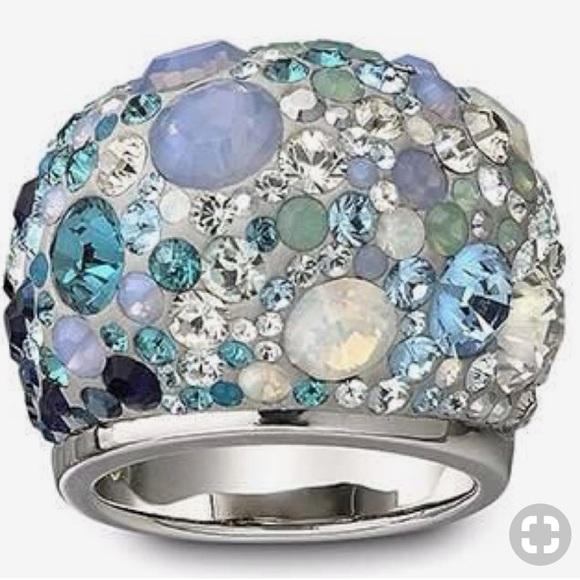 295559141b4d5 SWAROVSKI- Dome Cocktail Ring